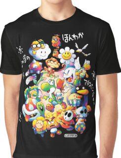Yoshi's Island 2 - スーパーマリオ ヨッシーアイランド Graphic T-Shirt