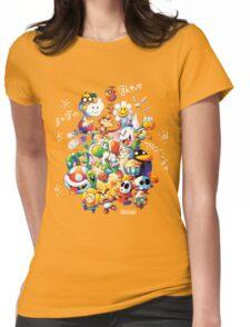 Yoshi's Island 2 - スーパーマリオ ヨッシーアイランド Womens Fitted T-Shirt