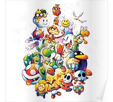 Yoshi's Island 2 - スーパーマリオ ヨッシーアイランド Poster