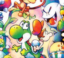 Yoshi's Island 2 - スーパーマリオ ヨッシーアイランド Sticker