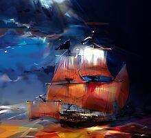 Pirate Ship by LimKis