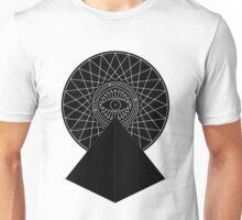 Geometric pyramid eye Unisex T-Shirt