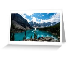 Lake Valley Scenery Greeting Card