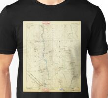 USGS TOPO Map Arizona AZ Camp Mohave 315432 1892 250000 Unisex T-Shirt