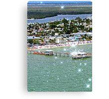 Fort Myers & Sanibel, Florida Canvas Print