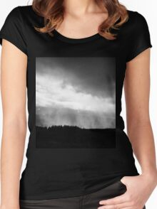 Dark Storm Women's Fitted Scoop T-Shirt