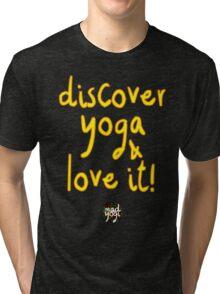 Mad Yogi # 4 Tri-blend T-Shirt