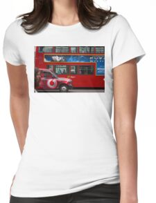 Oxford Street Transport Womens Fitted T-Shirt