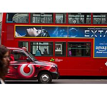 Oxford Street Transport Photographic Print