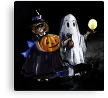 spooky day Canvas Print