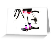 Better Cycling  Greeting Card