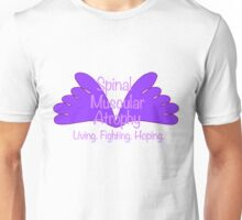 Spinal Muscular Atrophy - Living Fighting Hoping Unisex T-Shirt
