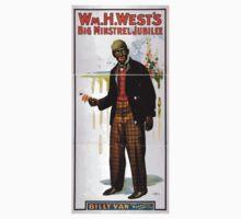 Performing Arts Posters Wm H Wests Big Minstrel Jubilee 1869 One Piece - Short Sleeve