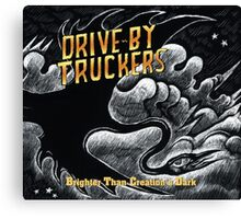 DRIVE BY TRUCKERS ALBUMS 4 Canvas Print