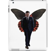 Moriarty with butterfly wings  iPad Case/Skin