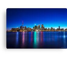 Toronto Skyline 4 Canvas Print