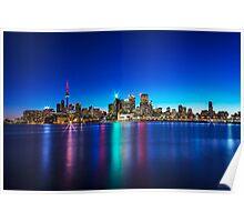 Toronto Skyline 4 Poster