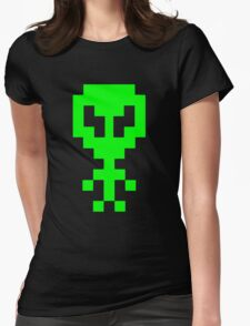 Cool alien Womens Fitted T-Shirt