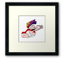 Captain Underpants  Framed Print