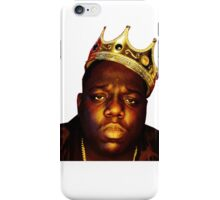 King B.I.G iPhone Case/Skin
