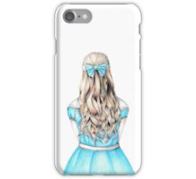 Alice in Wonderland design iPhone Case/Skin