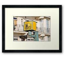 Speed camera, Hastings Framed Print