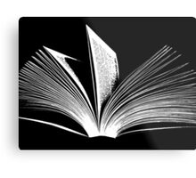 The Love of Reading Metal Print