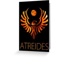 Atreides Greeting Card