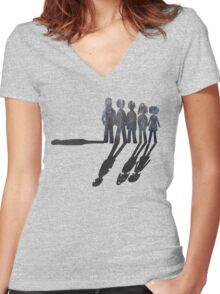 Misfits Powers Women's Fitted V-Neck T-Shirt