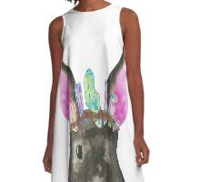 Dwarf Bunny Queen A-Line Dress