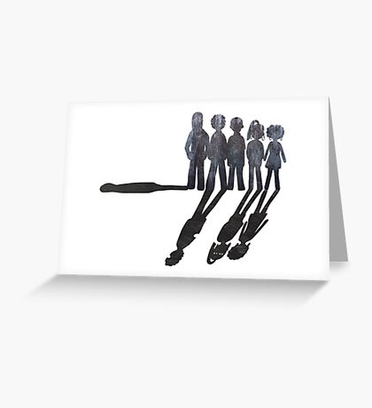 Misfits Powers Greeting Card