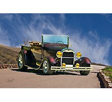 1929 Ford Model A Roadster Pickup Photographic Print