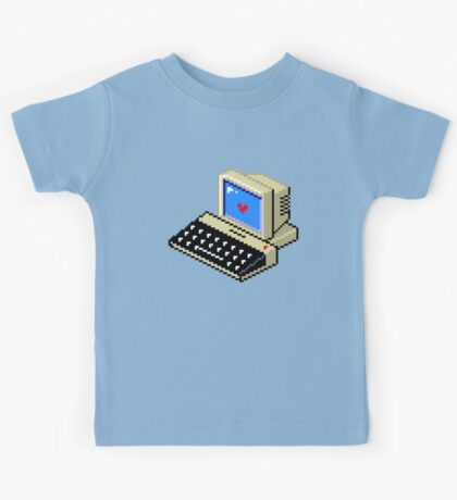 Cool computer love Kids Tee