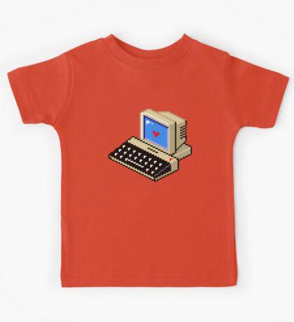 Cool computer love Kids Tee