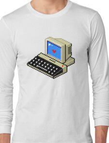 Cool computer love Long Sleeve T-Shirt