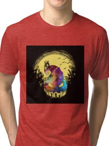 Jack The Nightmare before Christmas Tri-blend T-Shirt