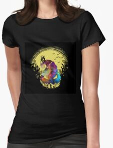 Jack The Nightmare before Christmas Womens Fitted T-Shirt