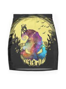 Jack The Nightmare before Christmas Mini Skirt