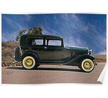1932 Ford Tudor Sedan Poster