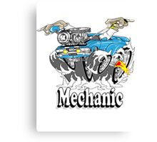 mechanic 11 Canvas Print