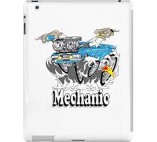 mechanic 11 iPad Case/Skin