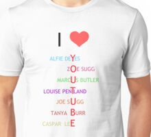 I heart Youtube Unisex T-Shirt