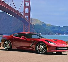 2014 Chevrolet Corvette Stingray by DaveKoontz
