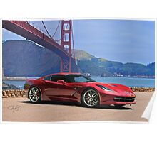 2014 Chevrolet Corvette Stingray Poster