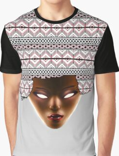 AFRO_RED Graphic T-Shirt