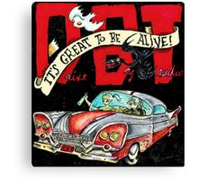 DRIVE BY TRUCKERS ALBUMS 6 Canvas Print