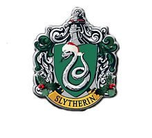 slytherin Christmas card by sherlokian