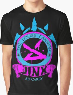 Jinx - The Loose Cannon Graphic T-Shirt