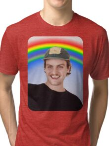 Rainbow Mac Demarco Tri-blend T-Shirt