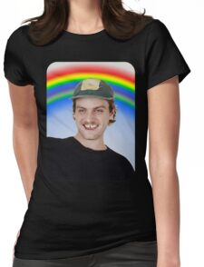 Rainbow Mac Demarco Womens Fitted T-Shirt